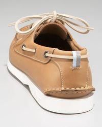 Ferragamo - Brown Boat Shoe, Camel for Men - Lyst