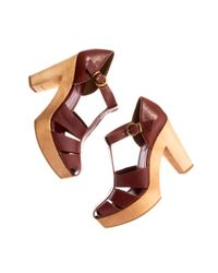 Madewell | Brown The High Road Sandal | Lyst