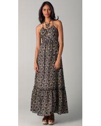 MILLY - Gray Moonlight Dance Dress - Lyst