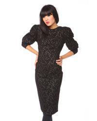 Nasty Gal   Black Elysian Wrap Dress   Lyst