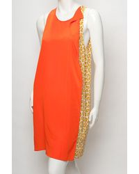 3.1 Phillip Lim   Multicolor Leopard Warped Ruffle Dress   Lyst