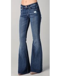 7 For All Mankind | Blue Andie Jeans | Lyst