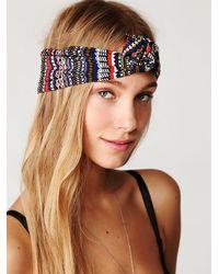 Free People | Multicolor Maryann Wire Turban | Lyst