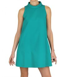 Gianluca Capannolo | Green A-line Stretch Cotton Dress | Lyst