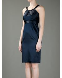 Elie Tahari | Blue Simone Dress | Lyst