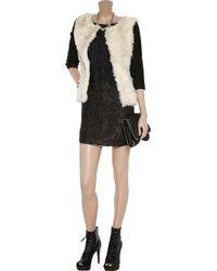 Gryphon | Natural Faux Fur Jacket | Lyst