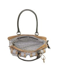 Guess - Natural Groovy - Front Pocket Satchel - Lyst