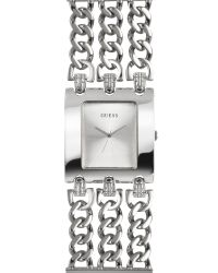 Guess | Metallic Large Rectangle Dial Watch  | Lyst
