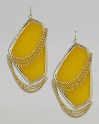 Kendra Scott | Metallic Kavita Earrings | Lyst