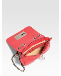 MILLY   Pink Mini Sophia Crossbody Bag   Lyst