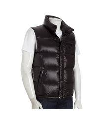 Prada | Sport Black Quilted Nylon Down Vest for Men | Lyst