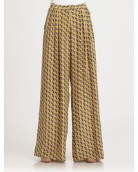 Rag & Bone | Yellow Racine Pant | Lyst