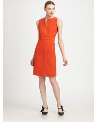 Tory Burch - Orange Mariel Sleeveless Dress - Lyst