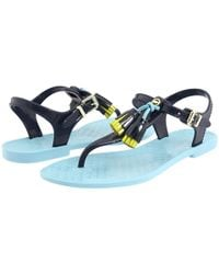 Juicy Couture | Blue Wisp Jelly Sandals  | Lyst