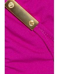 Melissa Odabash | Pink Odabash & Macdonald Pat C Triangle Bikini | Lyst