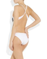 Melissa Odabash - Black Macdonald Nico Printed Swimsuit - Lyst