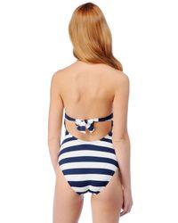 Splendid   Blue Marcel Stripe One Piece   Lyst