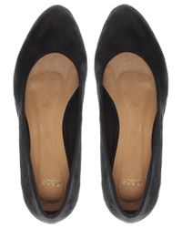 ASOS Collection - Black Vera Pointed Flatform Shoes - Lyst