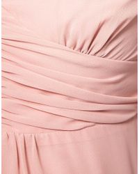 ASOS | Pink Maternity Midi Tea Dress | Lyst