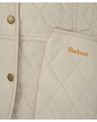 Barbour | Natural Taupe Summer Liddesdale Quilted Jacket | Lyst
