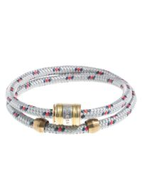 J.Crew | Gray Miansai® Rope Bracelet for Men | Lyst