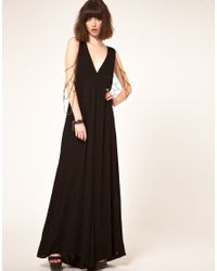 One Teaspoon | Black Tainted Jumpsuit With Body Jewellery | Lyst