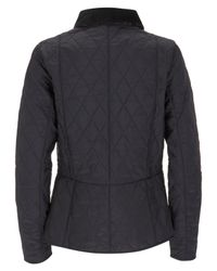 Barbour - Blue Mitsi Liberty Print Summer Liddesdale Quilted Jacket - Lyst