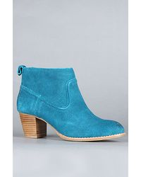 DV by Dolce Vita | Blue The Jamison Boot In Teal Suede | Lyst