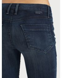 Goldsign - Blue Quinn Slim Bootcut Jeans - Lyst