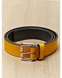Jil Sander | Yellow Mens Belt for Men | Lyst