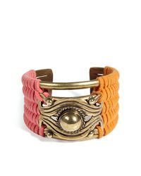 DANNIJO | Multicolor Oxidized Brass Plated Jane Cuff | Lyst
