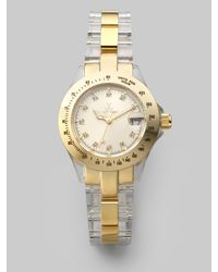 Toy Watch | Metallic Mini Acrylic Watch | Lyst