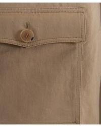 A.P.C. | Natural Beige Hooded Vintage Parka for Men | Lyst