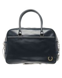 Fred Perry | Blue Holdall for Men | Lyst