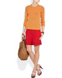 Missoni   Multicolor Crochet-knit Wooden Mules   Lyst