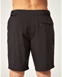Paul Smith - Black Long Slim Swim Shorts for Men - Lyst
