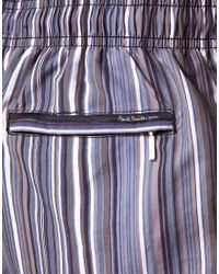 Paul Smith | Black Multi Stripe Swim Shorts for Men | Lyst