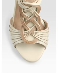 Cole Haan - Natural Vivian Air Braided Leather Sandals - Lyst