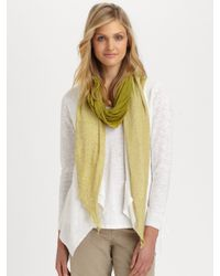 Eileen Fisher - Brown Ombre Scarf - Lyst