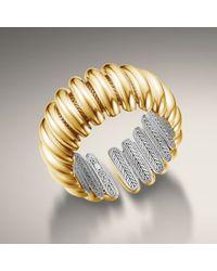 John Hardy - Metallic Concave Flex Cuff - Lyst