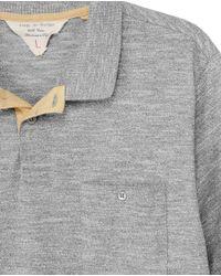 Rag & Bone - Gray Classic Fit Polo for Men - Lyst