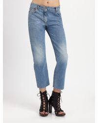 Acne Studios - Blue Pop Betty Jeans - Lyst