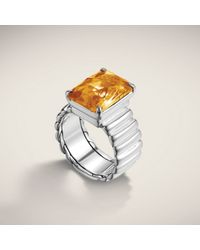 John Hardy | Metallic Wide Band Ring | Lyst