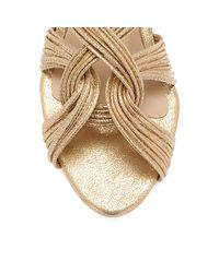 Loeffler Randall - Natural Filippa Mignon Flat Sandal - Lyst