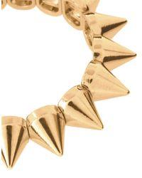 ASOS Metallic Asos Spike Stretch Bracelet