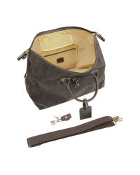 Bric's - Brown Life - Micro-suede Large Holdall Travel Bag for Men - Lyst