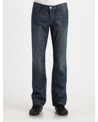 Earnest Sewn | Blue Fulton Straight Leg Jeans for Men | Lyst