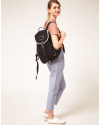 Fred Perry - Blue Authentic Backpack With Cream Piping - Lyst