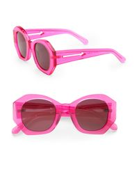 Karen Walker | Purple Patsy Sunglasses | Lyst