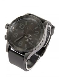 Nixon | Black 51-30 Tide Pu Watch for Men | Lyst